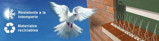 Anti palomas ferreterias for Pinchos para palomas